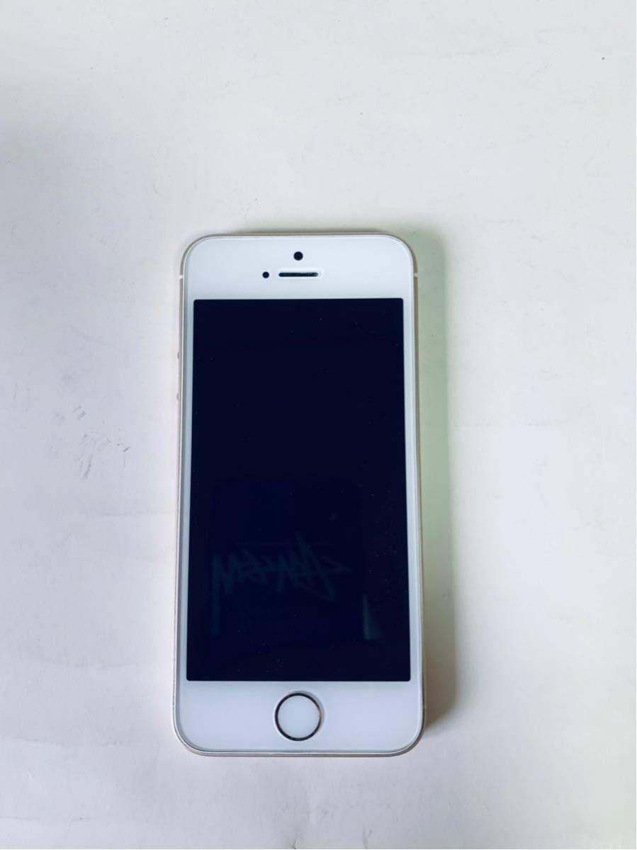 Apple iPhoneSE 128G SIMフリー SoftBank ゴールド_画像2