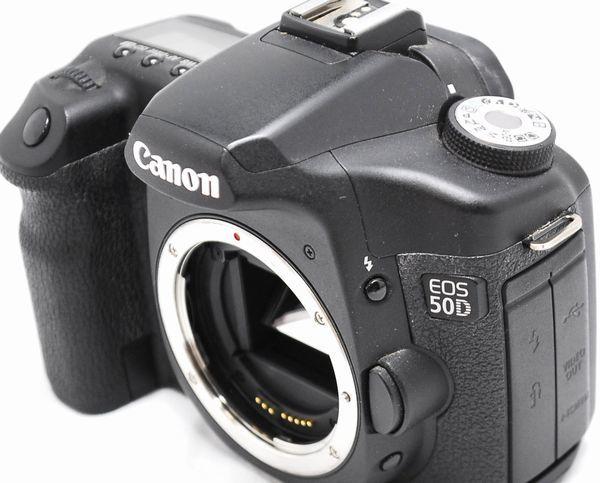 【美品・付属品完備】Canon キヤノン EOS 50D_画像5