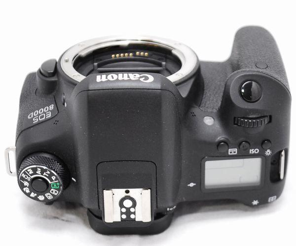 【極上美品・メーカー保証書等完備】Canon キヤノン EOS 8000D_画像9