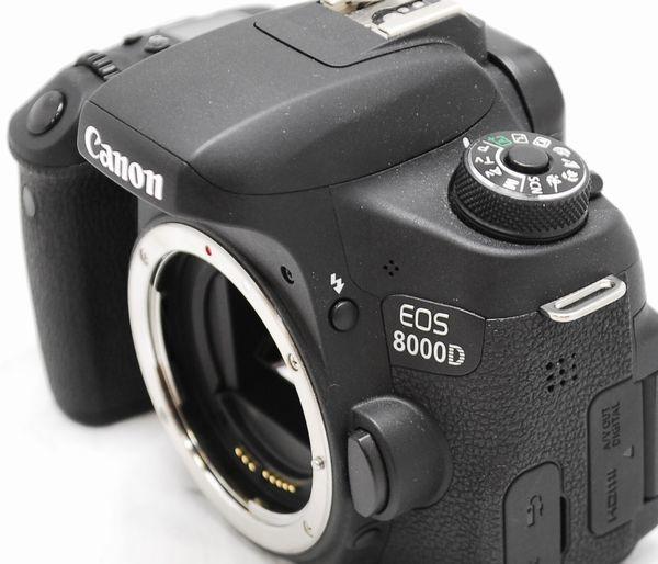 【極上美品・メーカー保証書等完備】Canon キヤノン EOS 8000D_画像4