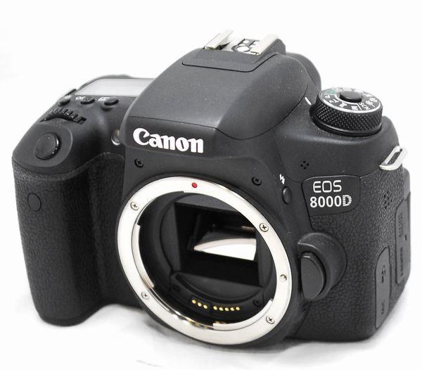 【極上美品・メーカー保証書等完備】Canon キヤノン EOS 8000D_画像2