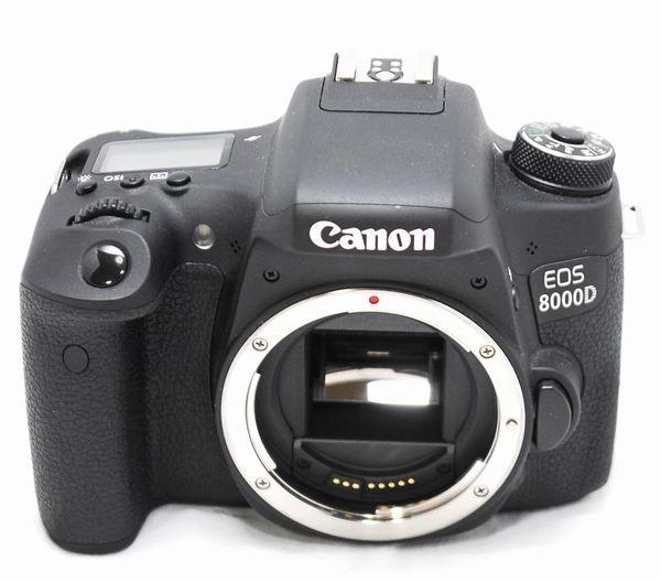 【極上美品・メーカー保証書等完備】Canon キヤノン EOS 8000D_画像3