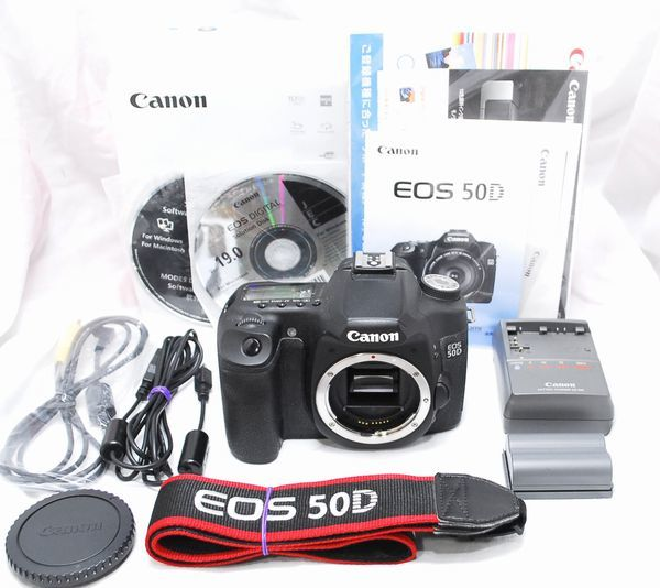 【美品・付属品完備】Canon キヤノン EOS 50D