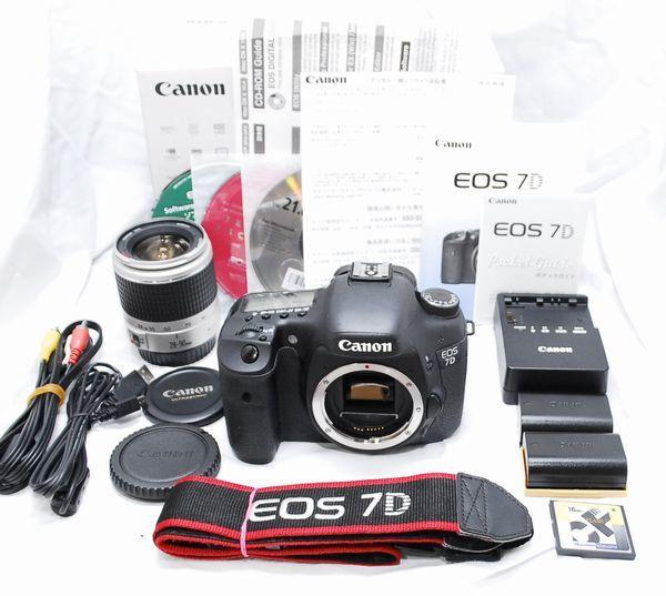 【良品・メーカー保証書等完備 豪華セット】Canon キヤノン EOS 7D EF 28-90mm USM