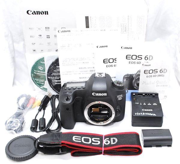 【良品・メーカー保証書等完備】Canon キヤノン EOS 6D