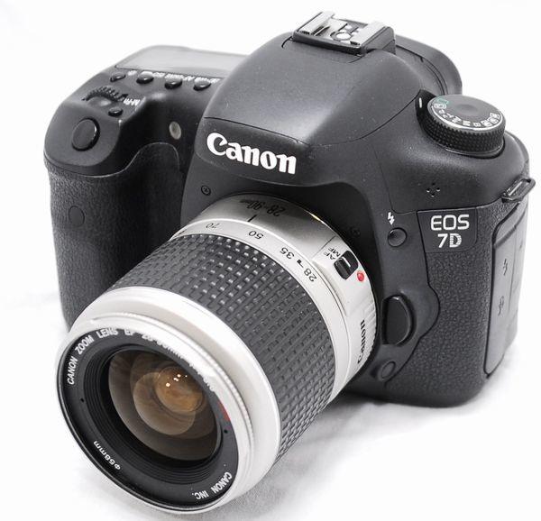 【良品・メーカー保証書等完備 豪華セット】Canon キヤノン EOS 7D EF 28-90mm USM_画像2