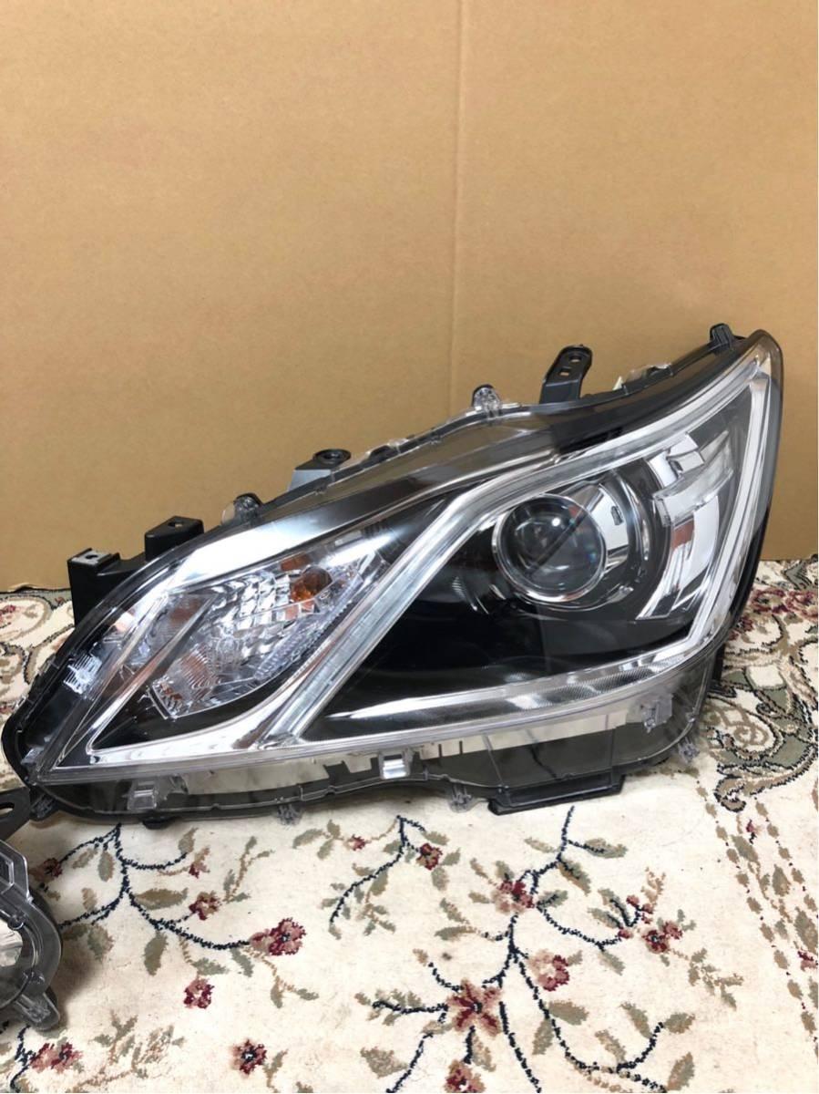 クラウン 210系 アスリートGグレード 後期 純正 右左 ヘッドライト LEDセット AWS210 AWS211 GRS210 GRS211 ARS210 GRS214_画像2