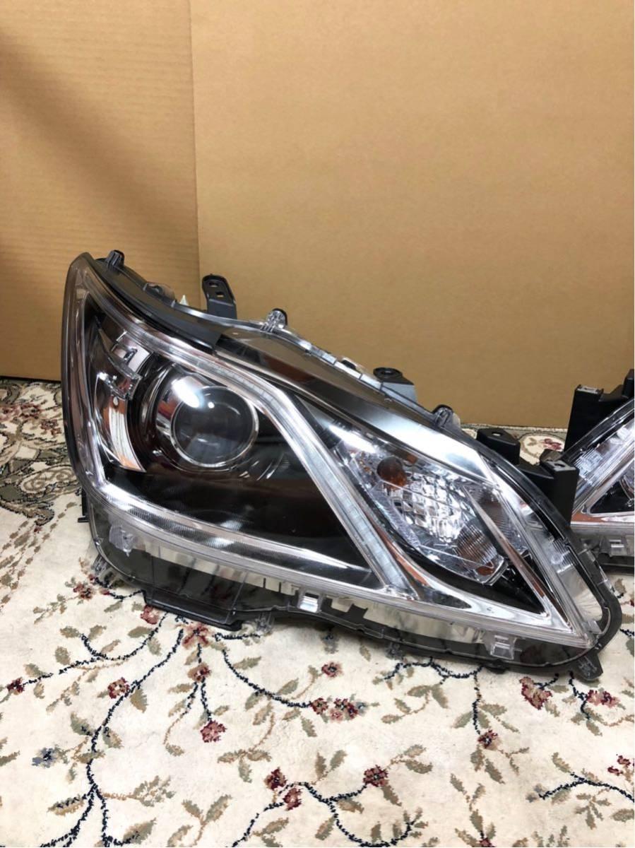 クラウン 210系 アスリートGグレード 後期 純正 右左 ヘッドライト LEDセット AWS210 AWS211 GRS210 GRS211 ARS210 GRS214_画像3