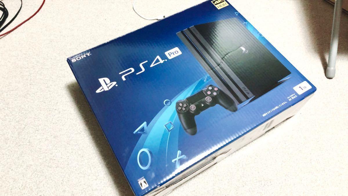 ★ 新品同様 PS4 proプレイステーション4 プロ CUH-7000B BO1 JB ★