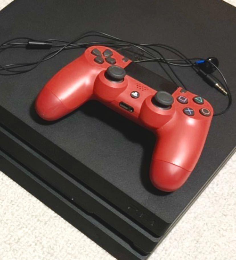 ★ 新品同様 PS4 proプレイステーション4 プロ CUH-7000B BO1 JB ★_画像3