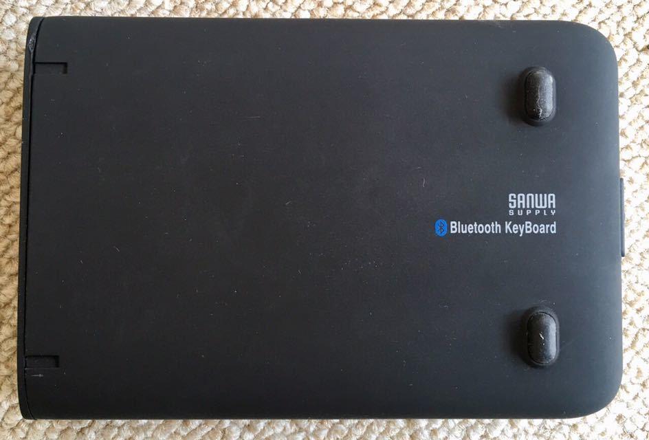 サンワサプライ 折りたたみ式 Bluetoothキーボード SKB-BT16BK ブラック_画像3