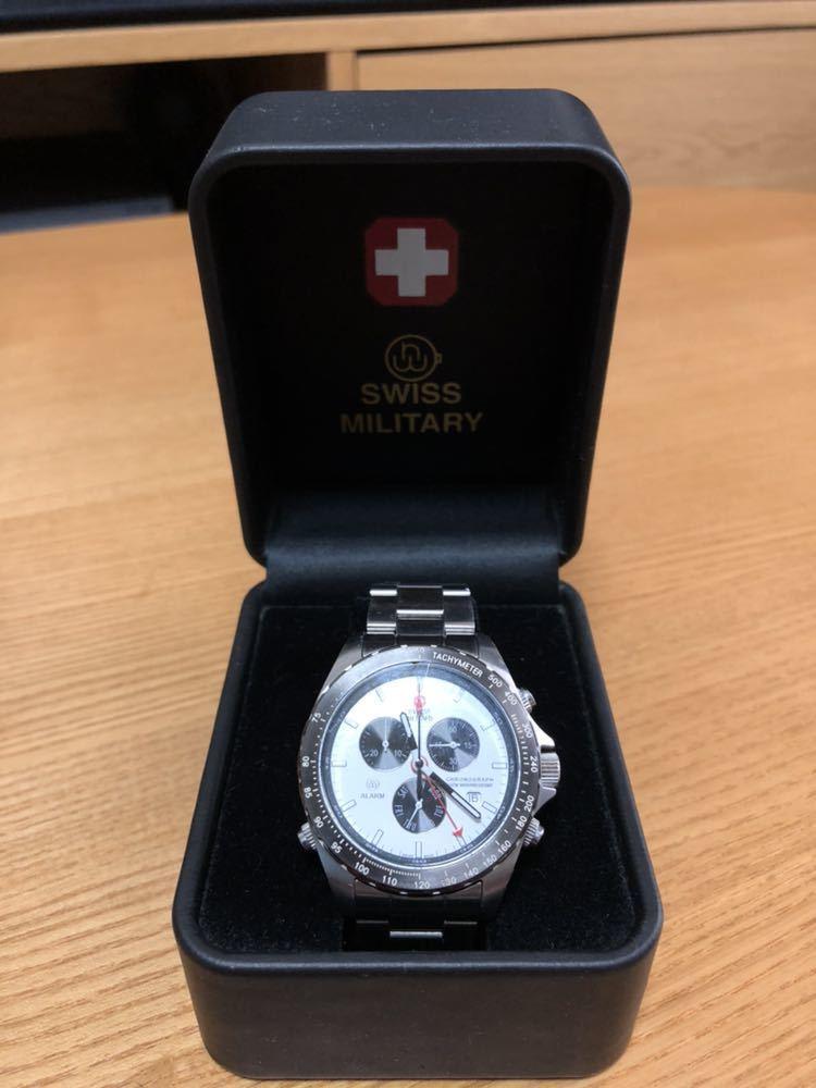 スイスミリタリー 腕時計 クロノグラフ _画像2