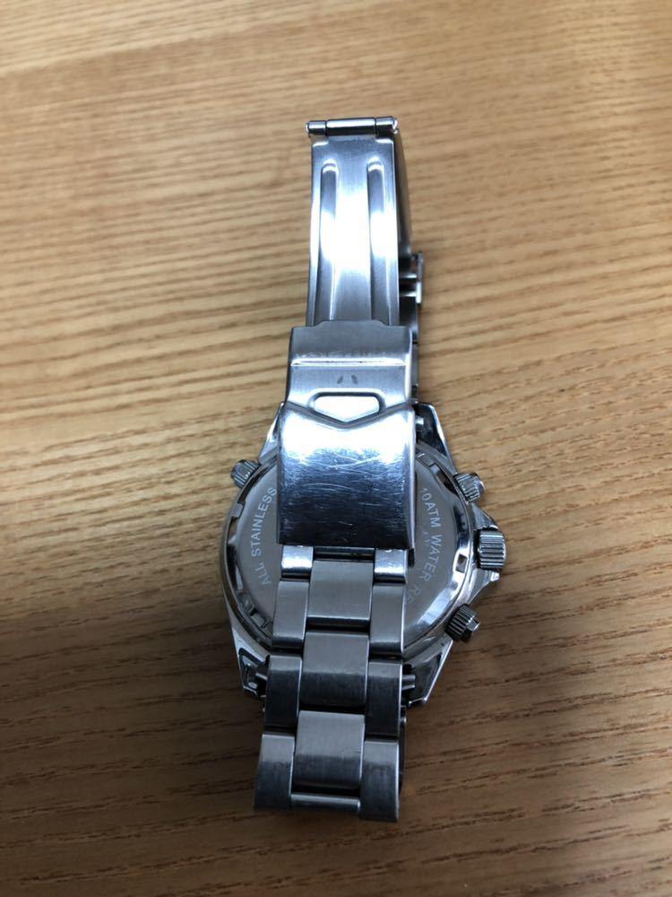 スイスミリタリー 腕時計 クロノグラフ _画像8