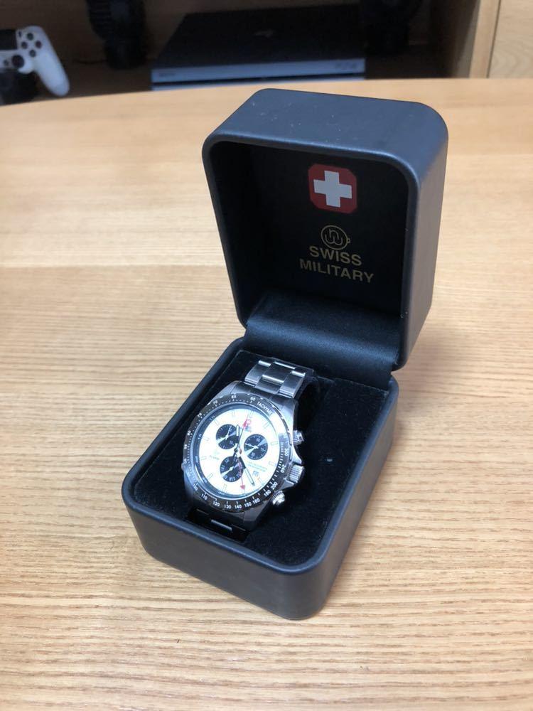 スイスミリタリー 腕時計 クロノグラフ