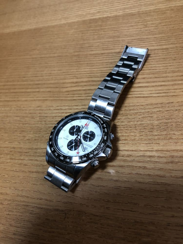 スイスミリタリー 腕時計 クロノグラフ _画像5
