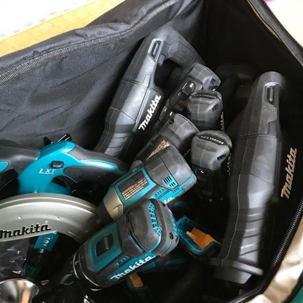 【新品】 マキタ 純正 ツールバッグ 大容量 ショルダーベルト付き_画像7
