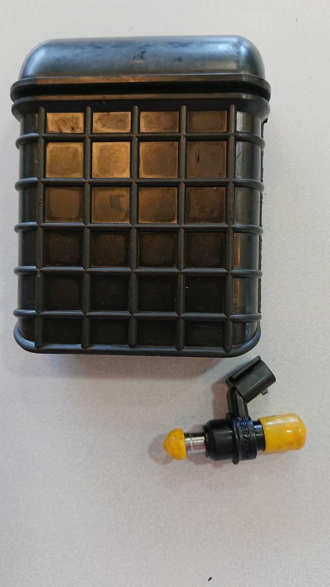 BEET 燃料増量タイプインジェクター、カワサキ純正エアクリーナー増量吸入口セットKLX250,Dトラッカー用