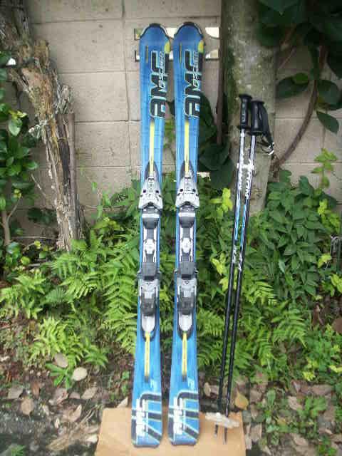 152 FISCHERフィッシャー AMC700 スキー 一応ジャンクで おまけあり