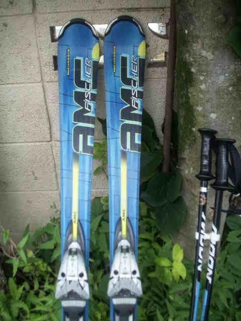 152 FISCHERフィッシャー AMC700 スキー 一応ジャンクで おまけあり_画像2