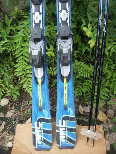152 FISCHERフィッシャー AMC700 スキー 一応ジャンクで おまけあり_画像3