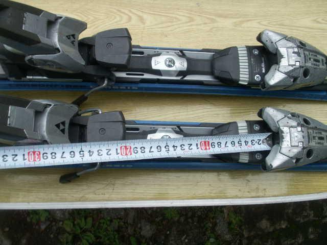 152 FISCHERフィッシャー AMC700 スキー 一応ジャンクで おまけあり_画像7