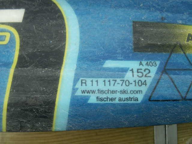 152 FISCHERフィッシャー AMC700 スキー 一応ジャンクで おまけあり_画像9