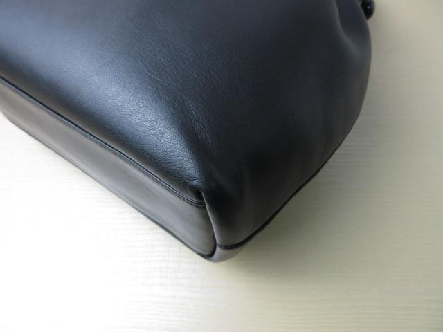 極美品(新品同様)■ディオール Christian Dior■ハンド バッグ CD ブラック レザー 希少鞄 ag3999_画像6
