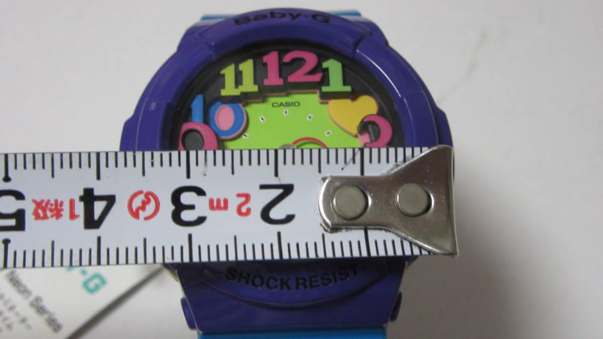 【CASIO 】 カシオ Baby-G ベビージー ネオンダイアル/ クレイジーネオンシリーズ BGA-130-6BJF 展示未使用品_画像5