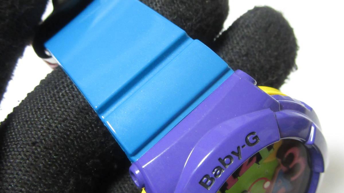 【CASIO 】 カシオ Baby-G ベビージー ネオンダイアル/ クレイジーネオンシリーズ BGA-130-6BJF 展示未使用品_画像6