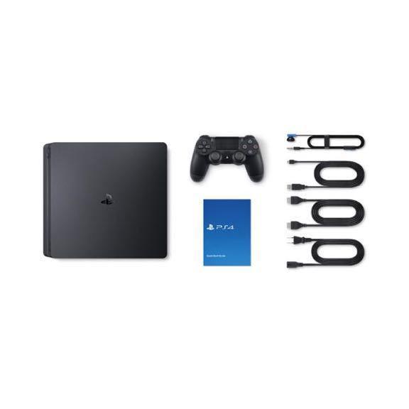 【 新品 未使用 未開封 】PS4 ジェット・ ブラック 500GB CUH-2200AB01 プレイステーション4 プレステ4 SONY PS4本体 PlayStation4 黒_画像2