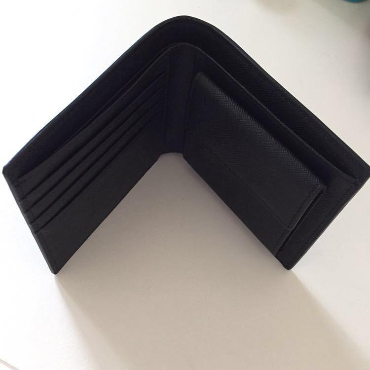 新品 限定商品 ドイツタンナーの本革 牛革 二つ折り財布 小銭入れ ルノワール、コンパクト、超人気財布!_画像2