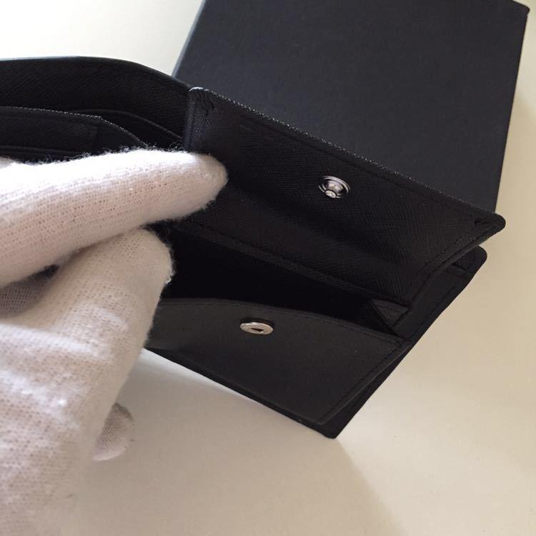 新品 限定商品 ドイツタンナーの本革 牛革 二つ折り財布 小銭入れ ルノワール、コンパクト、超人気財布!_画像3