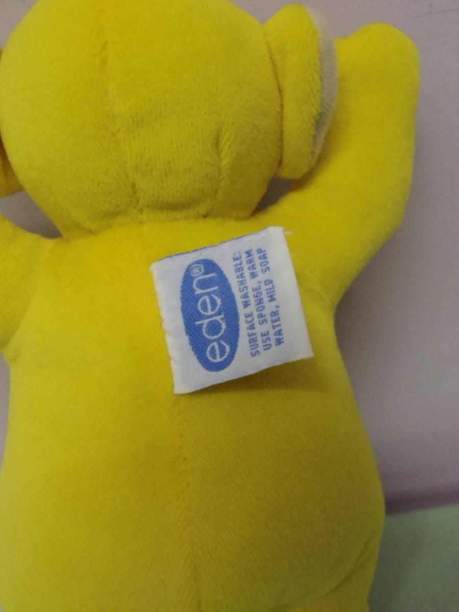 テレタビーズ◆ラーラ EDEN社製 ぬいぐるみ人形 23㎝ エデン Teletubbies Laa-Laa vintage plush toy stuffed animal_画像5