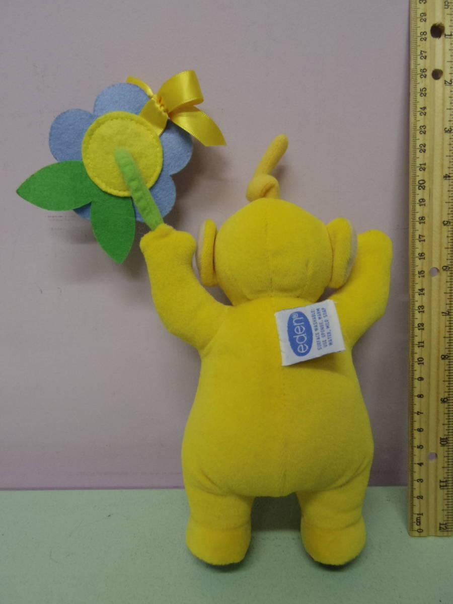テレタビーズ◆ラーラ EDEN社製 ぬいぐるみ人形 23㎝ エデン Teletubbies Laa-Laa vintage plush toy stuffed animal_画像4