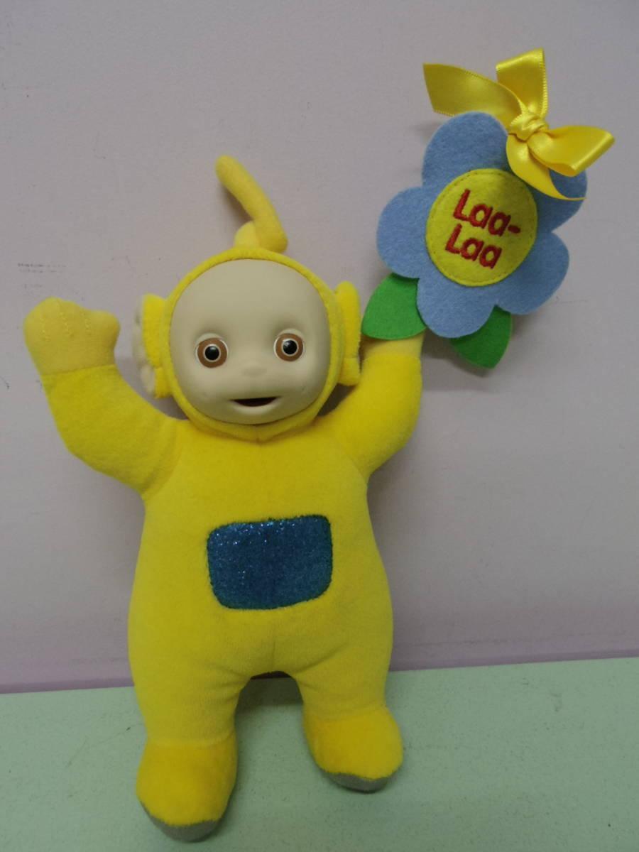 テレタビーズ◆ラーラ EDEN社製 ぬいぐるみ人形 23㎝ エデン Teletubbies Laa-Laa vintage plush toy stuffed animal_画像1