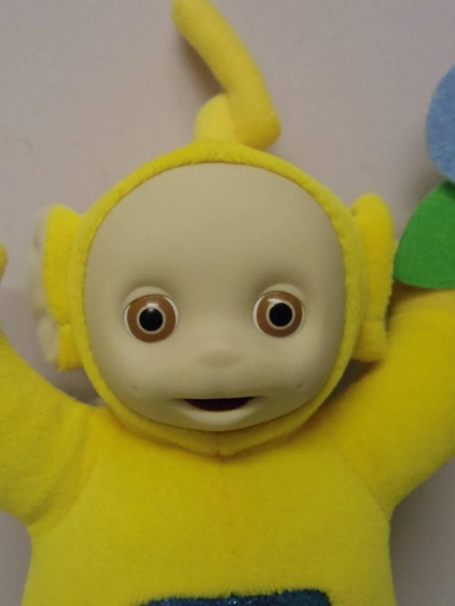 テレタビーズ◆ラーラ EDEN社製 ぬいぐるみ人形 23㎝ エデン Teletubbies Laa-Laa vintage plush toy stuffed animal_画像3