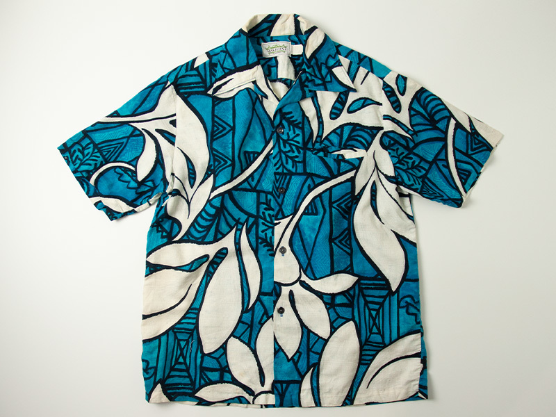 1970年代 MALIHINI コットン ハワイアンシャツ ビンテージ 古着 アロハシャツ マリヒニ