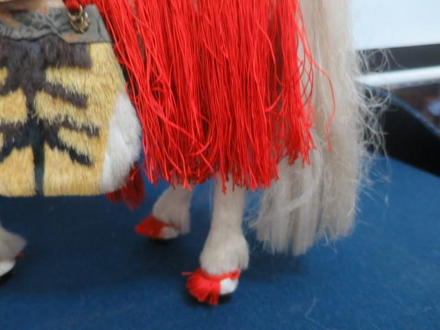 【人形館】「丸平太鼓と神馬C-244」五月人形・武者人形・大将飾り.蒔絵〝五〟_画像7