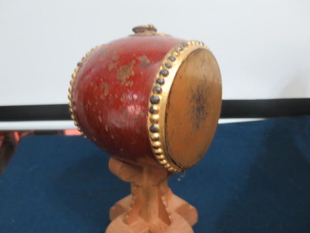 【人形館】「丸平太鼓と神馬C-244」五月人形・武者人形・大将飾り.蒔絵〝五〟_画像9