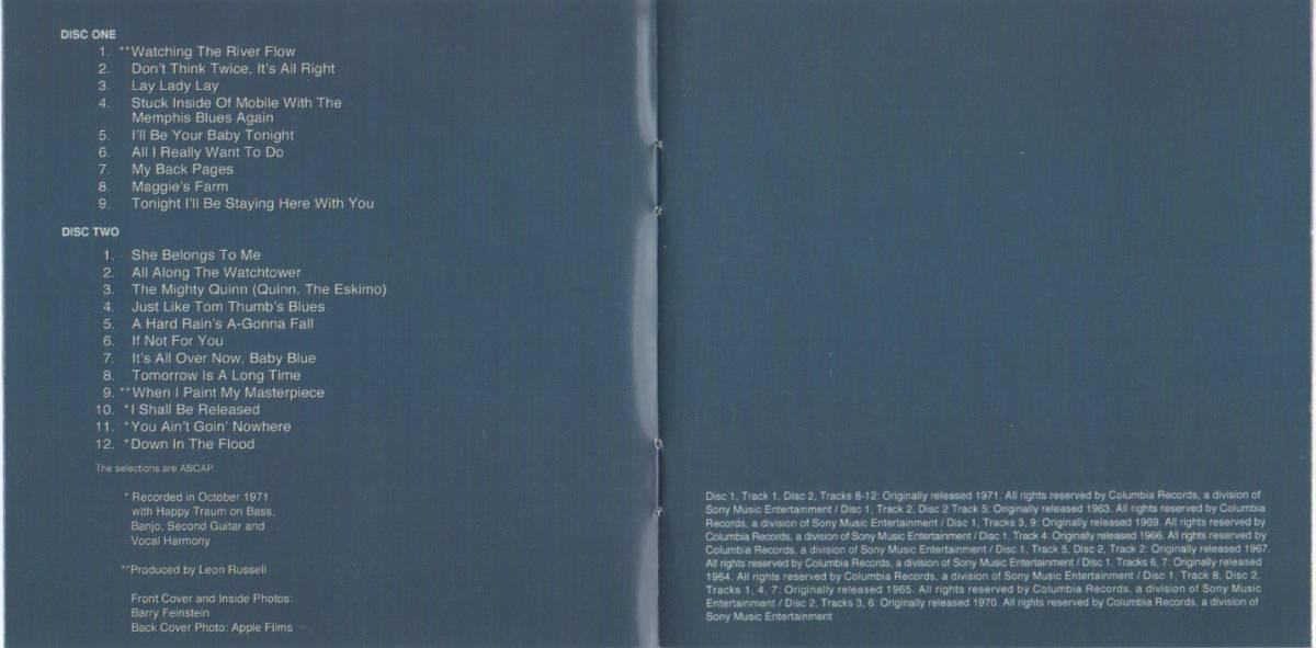 限定番号入りHYBRID SACD「BOB DYLAN'S GREATEST HITS VOL.Ⅱ」_画像6