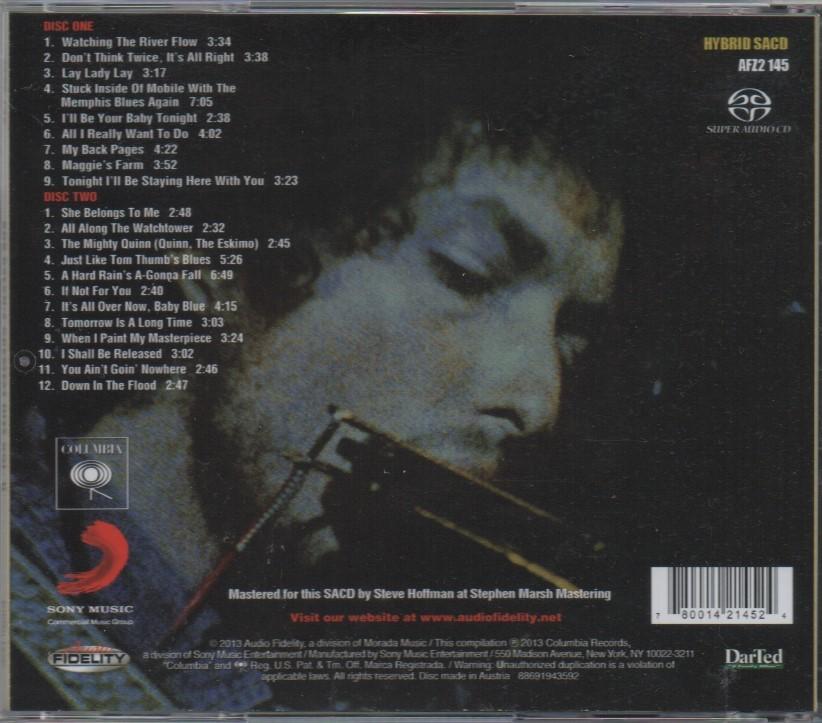 限定番号入りHYBRID SACD「BOB DYLAN'S GREATEST HITS VOL.Ⅱ」_画像4