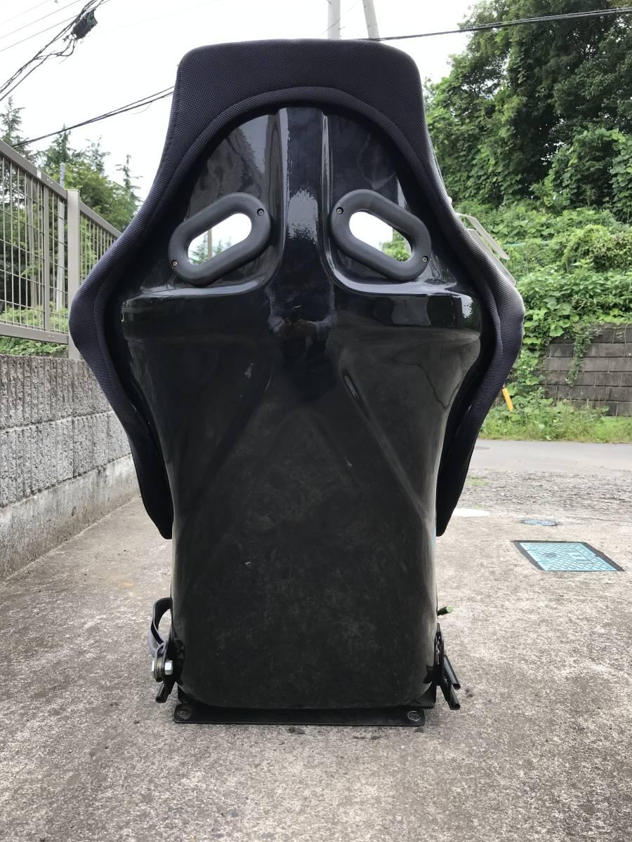 ホンダ ビート PP1 フルバケットシート(ノーブランド) +Super Low ポジションレール_画像5