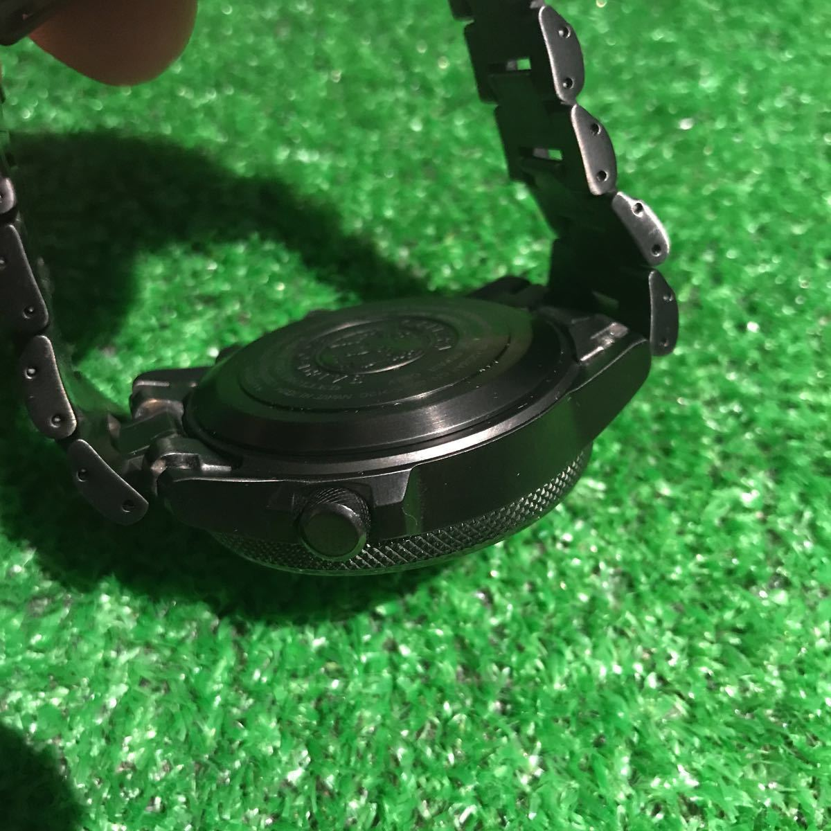 新品同様1円~ 試着程度 シチズン U680-T019692 プロマスター チタン ソーラー 電波時計 アナデジ メンズ腕時計 60サイズ (62)_画像4