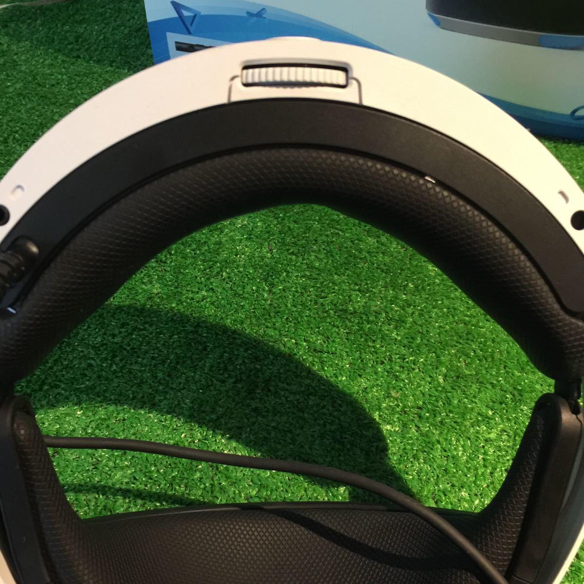 1円~ PSVR PlayStation VR PlayStation Camera同梱版 CUHJ-16003 元箱 説明書付き (77) 100サイズ_画像3