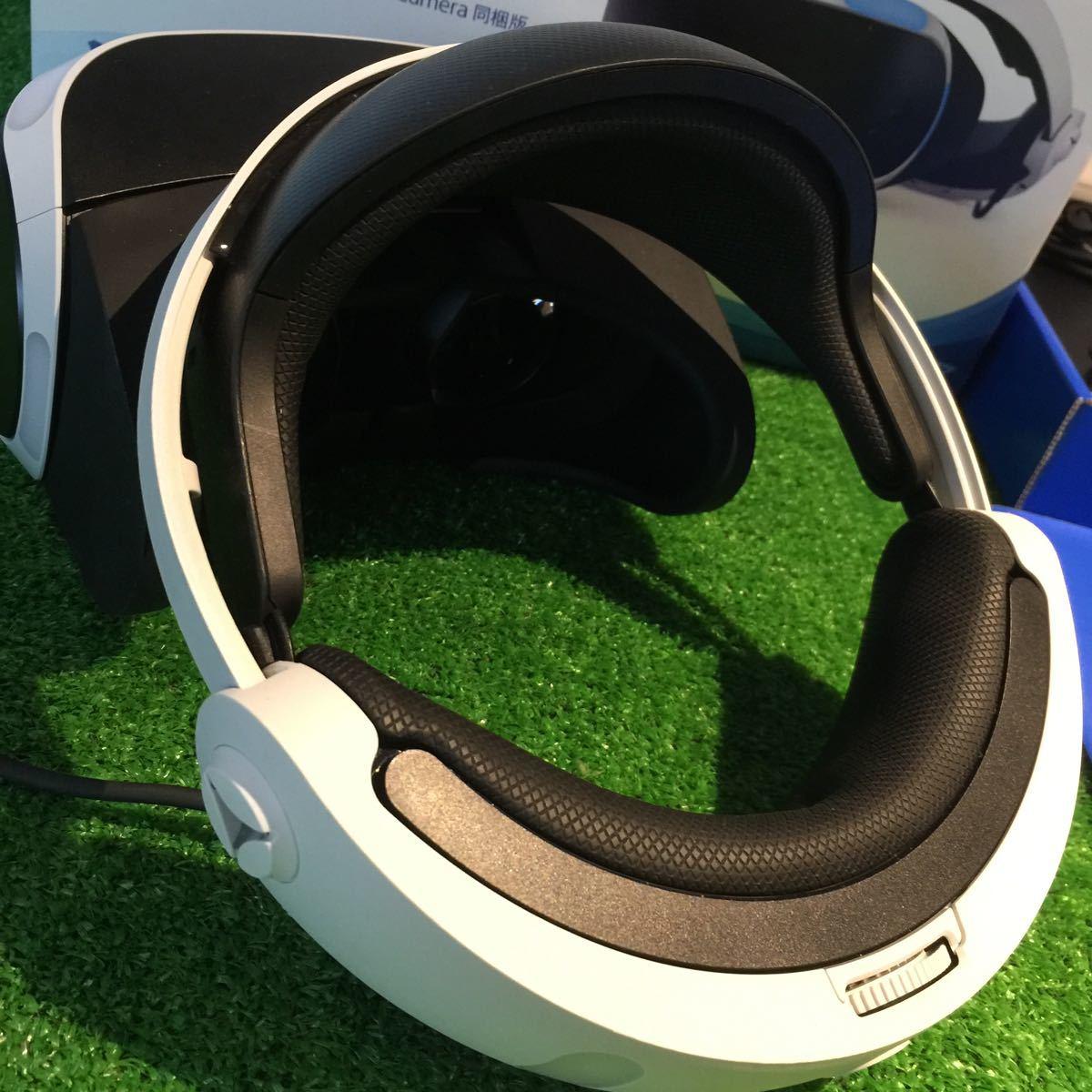 1円~ PSVR PlayStation VR PlayStation Camera同梱版 CUHJ-16003 元箱 説明書付き (77) 100サイズ_画像5