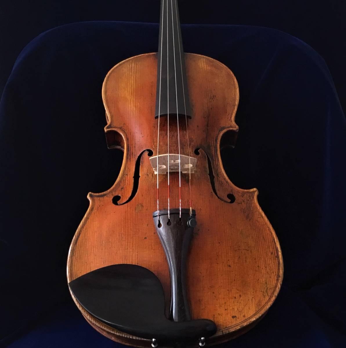 200年以上前 Jacob_Stainerモデル ジャーマンオールドヴァイオリン(4/4)_画像3