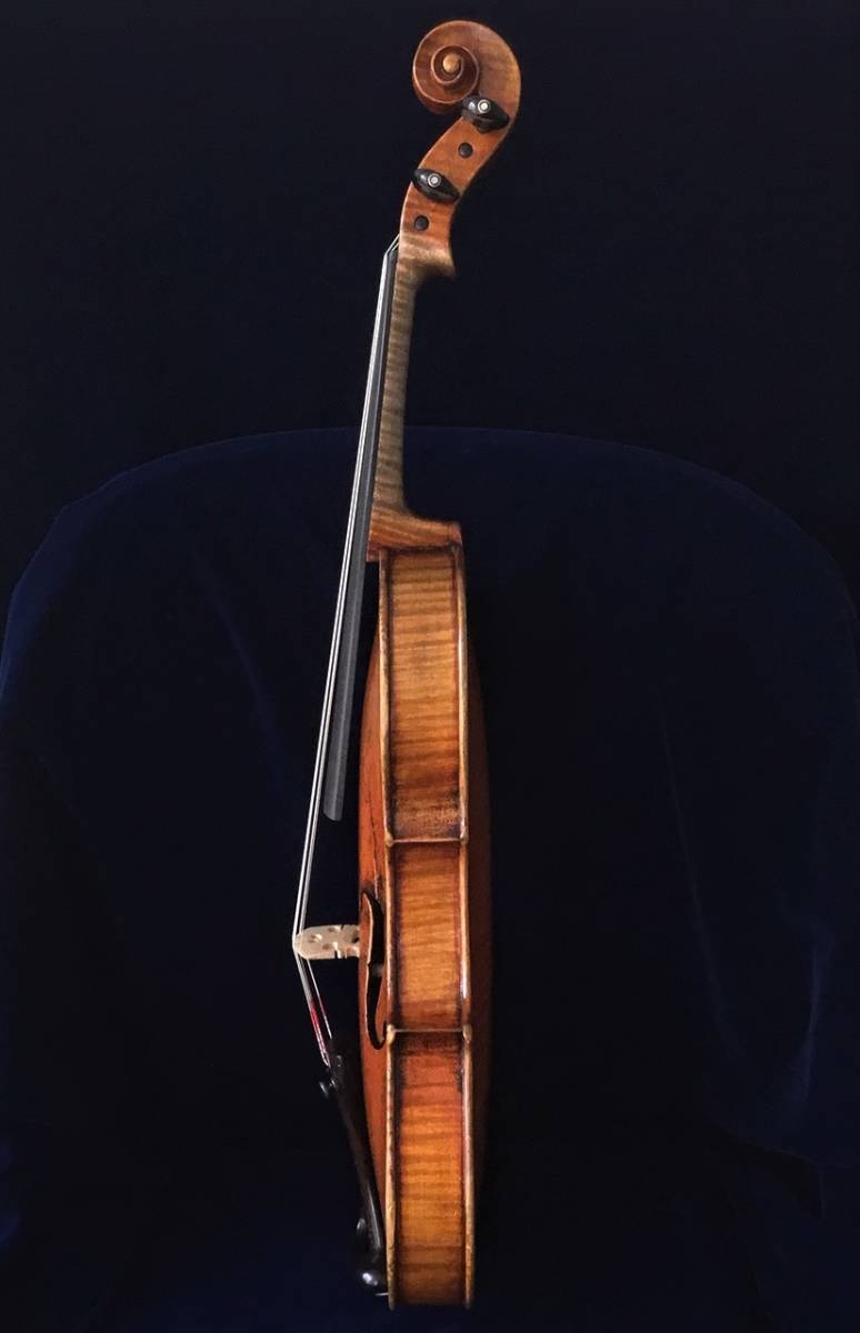 200年以上前 Jacob_Stainerモデル ジャーマンオールドヴァイオリン(4/4)_画像4