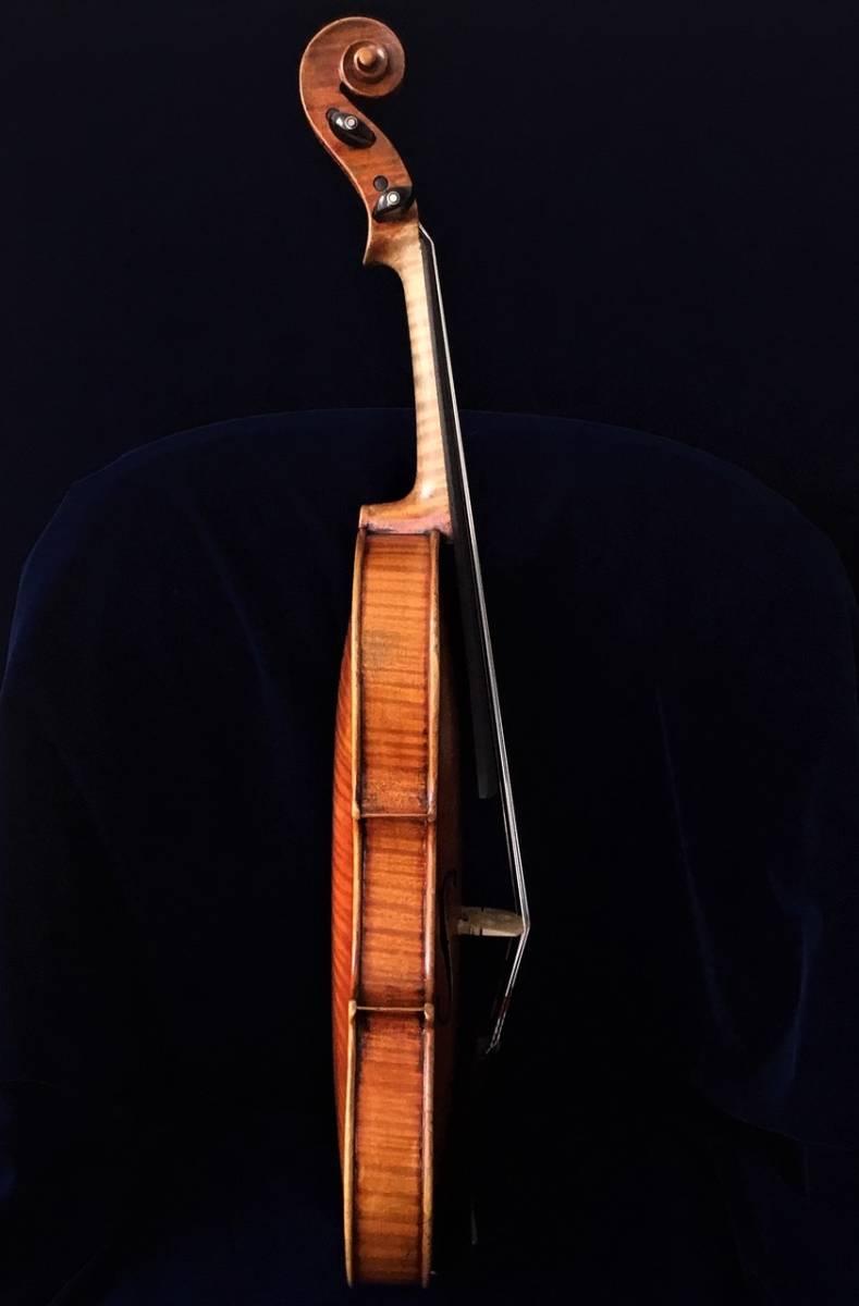 200年以上前 Jacob_Stainerモデル ジャーマンオールドヴァイオリン(4/4)_画像5