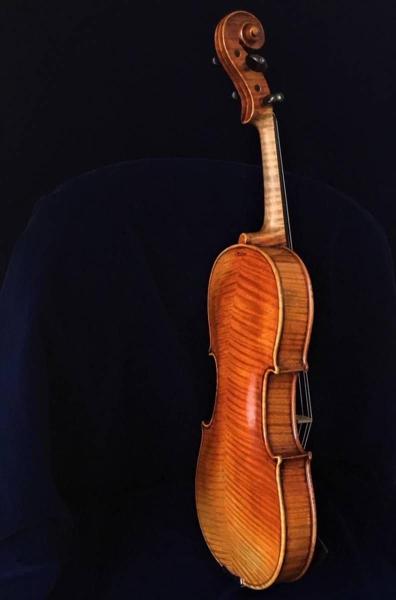 200年以上前 Jacob_Stainerモデル ジャーマンオールドヴァイオリン(4/4)_画像6