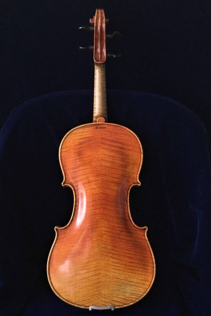 200年以上前 Jacob_Stainerモデル ジャーマンオールドヴァイオリン(4/4)_画像2